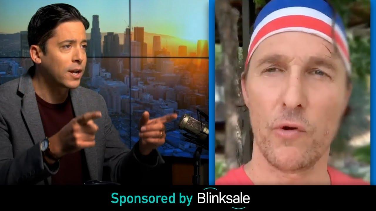 "WATCH: McConaughey's ""Wear The DAMN Mask"""