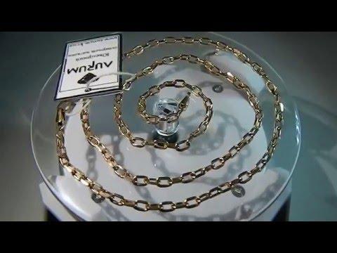Золотая цепь Якорное плетение
