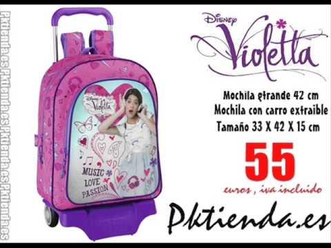 Violetta Disney Mochila grande con ruedas - PKTIENDA.ES