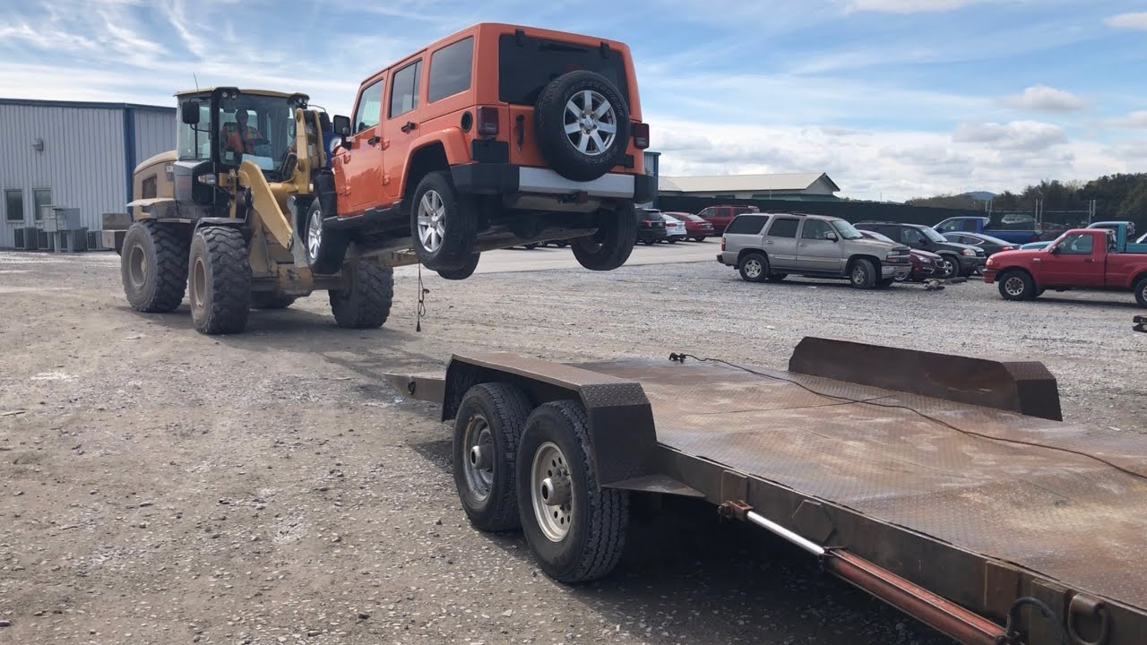 Download Rebuilding A Wrecked 2013 Jeep Wrangler JK Sahara Part 1