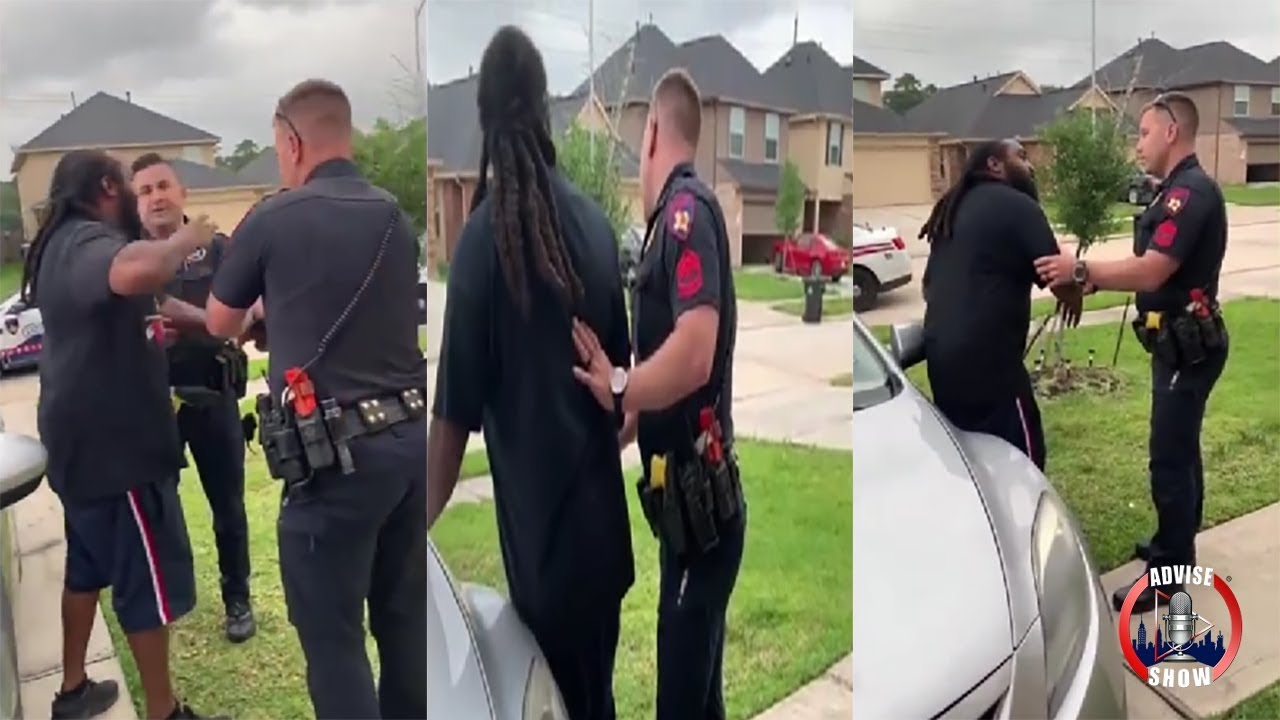 Texas Cop Attempts To Arrest The Wrong Man On Felony Out Of State Warrant