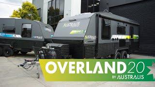 Overland 20 Couples Caravan External Overview