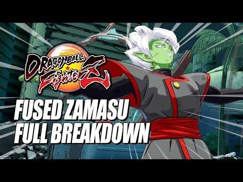 FUSED ZAMASU - Full Breakdown: Combos, Supers & Flight Tricks (DragonBall FighterZ)