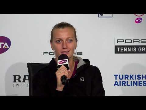 Petra Kvitova Press Conference | 2018 Stuttgart Day 3