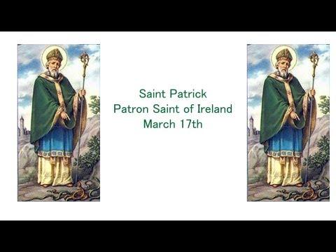 ╆ St Patrick Prayer - Patron Saint of Ireland - Saint Patrick's Day - March 17th ╆