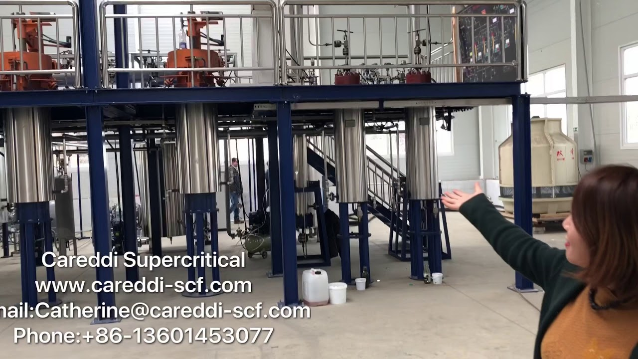 Large Scale Supercritical Co2 Extraction Machine 300l