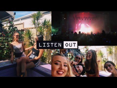 LISTEN OUT 2018 - VLOG | brockhampton, asap rocky, skrillex, snakehips