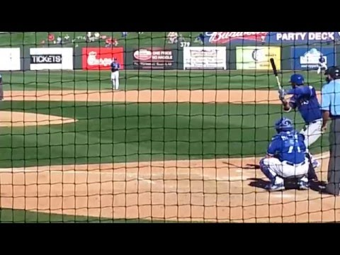 Nomar Mazara Spring Training Home Run