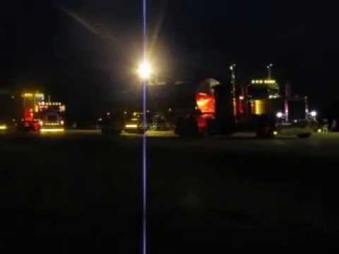 Parade Of Lights Going to Mackinaw Bridge 001