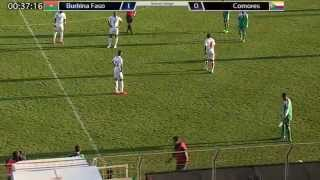 BURKINA FASO VS COMORES MATCH INTÉGRAL Match amical du 5/03/2014