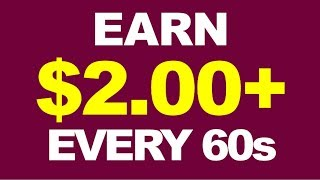 Earn $2 Every Min Right NOW (Income Proof)