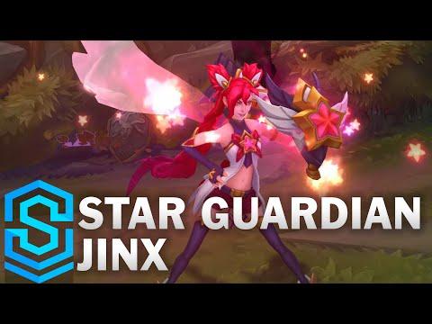Star Guardian Jinx Skin Spotlight - Pre-Release - League of Legends