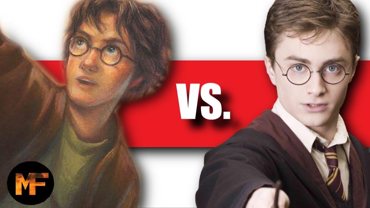 Harry Potter Books vs  Movies (Top 10 List)