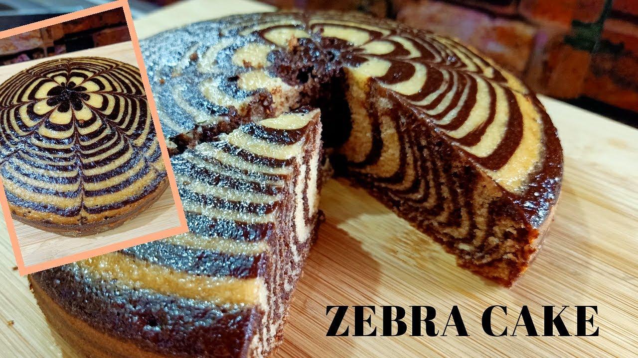 ZEBRA CAKE RECIPE || EGGLESS, OVENLESS, LOCKDOWN ME GHAR K SAMAGRI K SATH BANE LAGABAB CAKE RECIPE