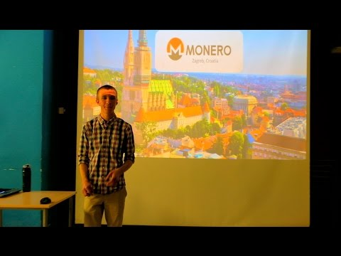 Meetup 20: Introduction to Monero by Justin