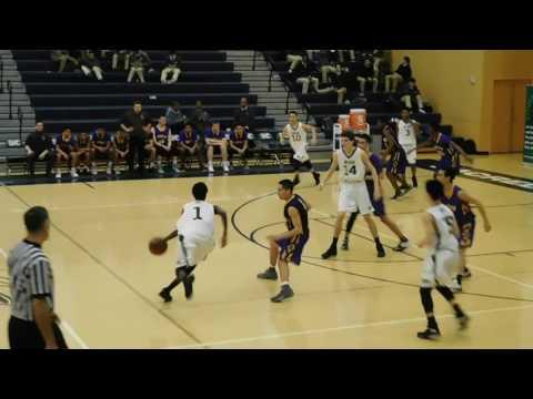 SHC vs. Riordan Game 2 - JV Boys - 2017 High School Basketball