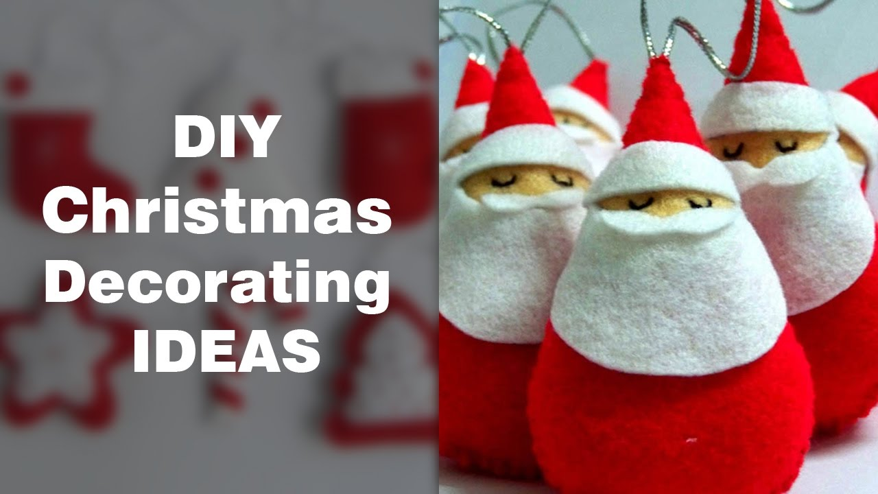 Diy Christmas Decorations Diy Christmas Decorations Ideas Home Made Christmas Decorating