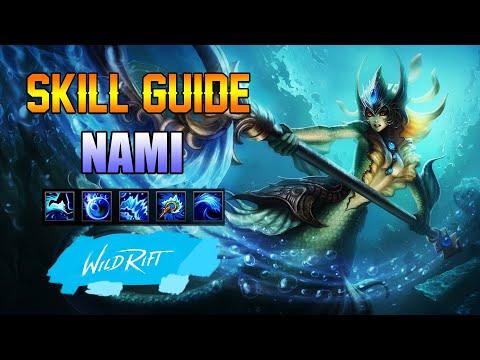 NAMI SKILL GUIDE - WILD RIFT