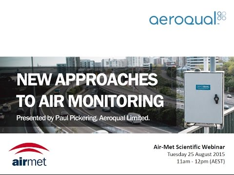 New Approaches to Air Monitoring