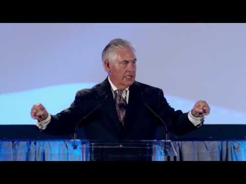 2016 Eagles Among Us: Rex Tillerson Keynote Address