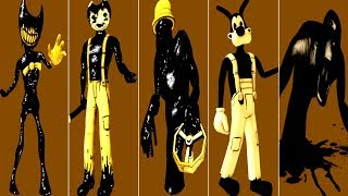 *NEW* Bendy and the Ink Machine ALL JUMPSCARES 2