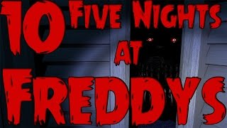 10 Things You May Have Missed In the Five Nights At Freddys Games