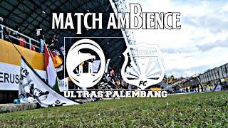 Ultras Palembang : Match Ambience Sriwijaya fc VS Bhayangkara Fc - Liga 1 2018 (12.05.2018)