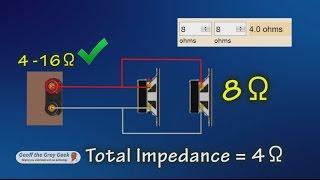 Understanding Speaker Impedance and Speaker Switches