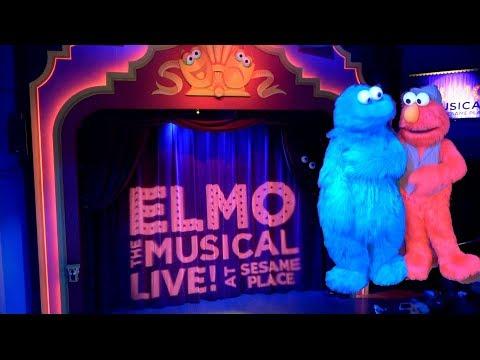 Sesame Place Elmo the Musical