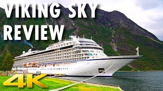 Viking Sky Tour & Review ~ Viking Ocean Cruises ~ Cruise Ship Tour & Review [4K Ultra HD]