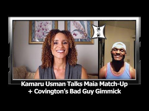 Kamaru Usman Talks UFC Chile Fight With Maia; Says Covington Ducked Him At Least 4 Times