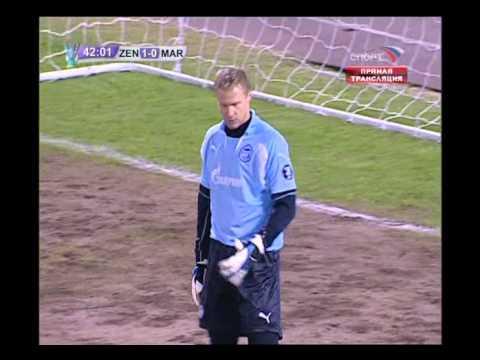Смотреть Зенит – Олимпик Марсель, Кубок УЕФА 2007/2008, 2-0 онлайн