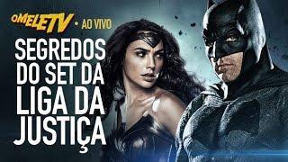 TUDO sobre o filme da Liga da Justiça! | OmeleTV AO VIVO