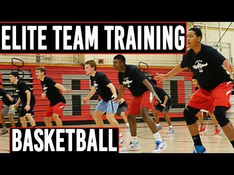 ELITE Team Basketball Training | Jump Higher! | The Lost Breed