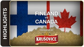 Second straight gold for Canada | Finland-Canada HL | #IIHFWorlds 2016