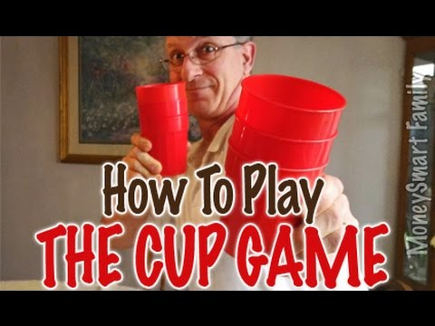How to Play the Cup Game Inexpensive family or group fun game