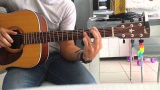 Francis Cabrel-Octobre-guitare