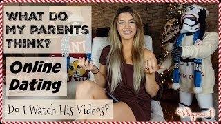 What Do My Parents Think? | Online Dating | Do I Watch His Videos? | Q | Vlogmas Day 11