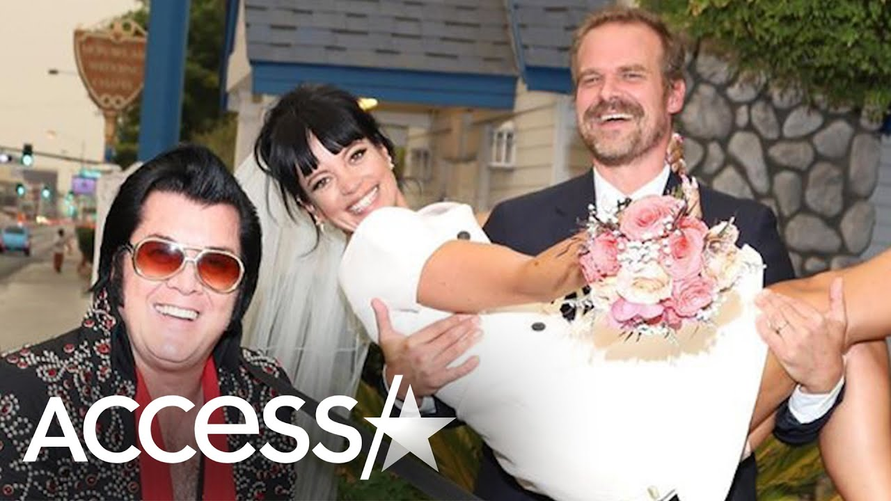 'Stranger Things' star David Harbour marries Lily Allen