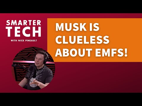 Musk Is Clueless About EMFs