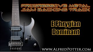 Progressive Metal Jam Backing Track + Key Changes!