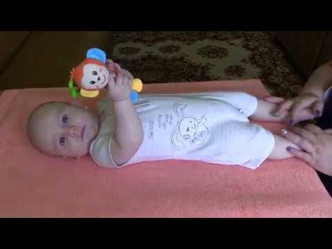 Гимнастика для детей 5 месяцев видео уроки