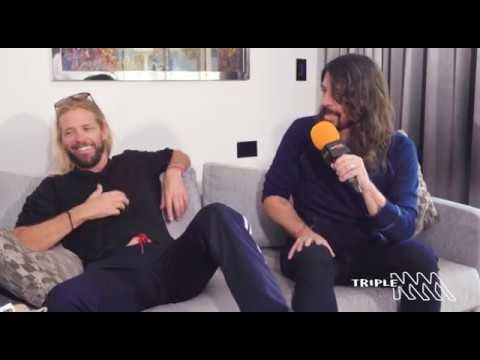 Dave Grohl And Taylor Hawkins | TRIPLE M