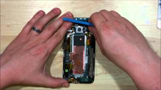 HTC One M9 Disassembly - Screen Chasis Replacement - SD/SIM/Speakers/Charge port Replacement