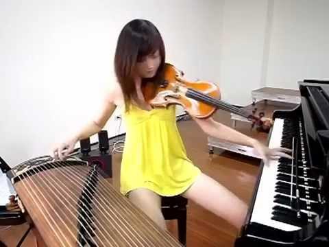 超正點女子 一人樂坊演奏 [舞孃]_Taiwan Artist - Shara Lin 林逸欣