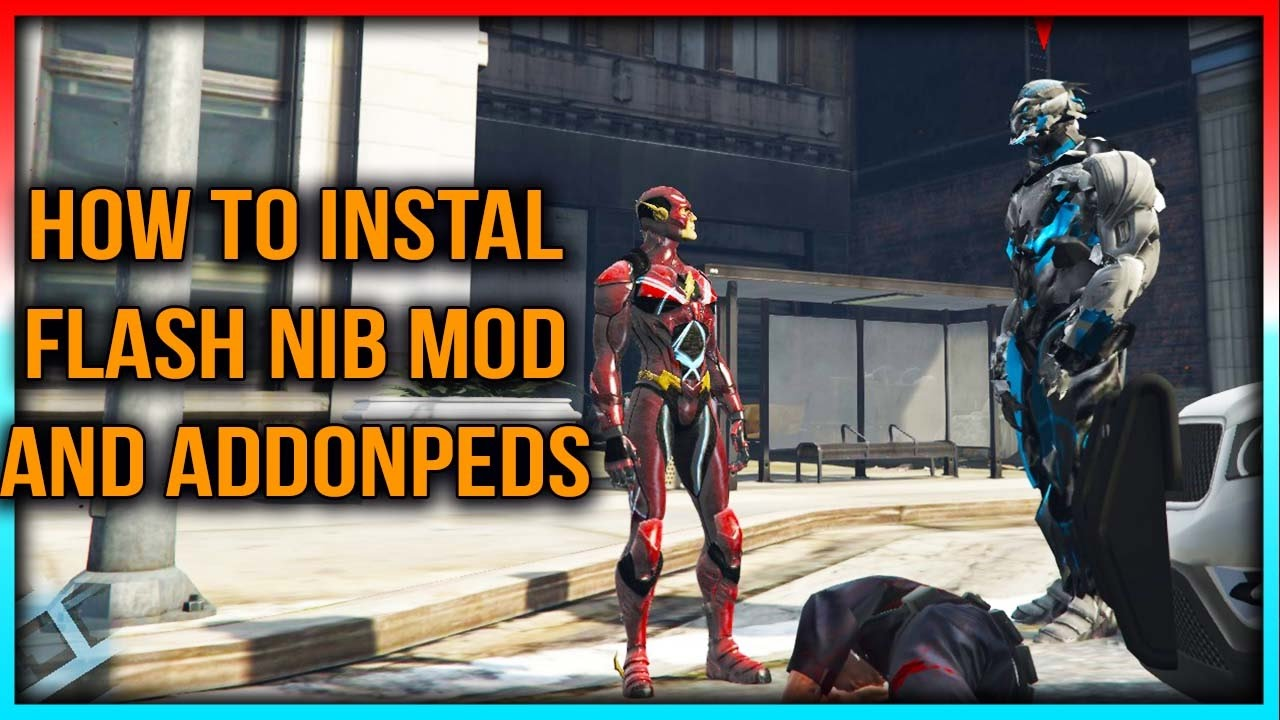 How To Install Flash⚡⚡ Script Mod And Addonpeds (NEW) Gta5Mods