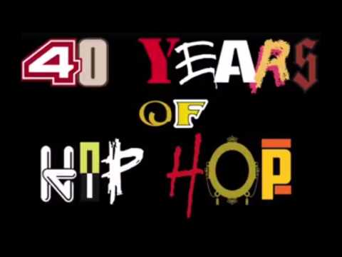 40 years of hip hop mix