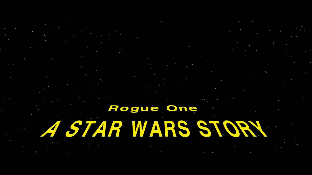 If Rogue One Had A Opening Crawl Youtube