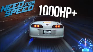 Need for Speed 2015 1000HP+ Supra Drag Build Gameplay & Multiplayer Street Racing!