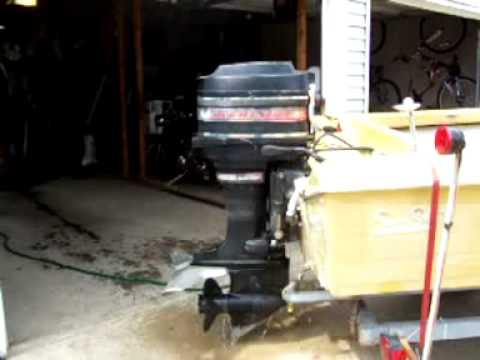 65 hp mercury boat motor part 1 youtube for 4 horse boat motor